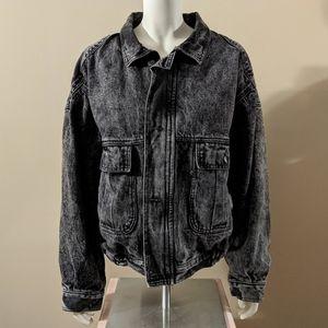 Levi's Black Jean Jacket Sample Garment